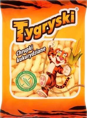 Tygryski Mais Chips 100 g I Polnisches Gebäck & Knabberei