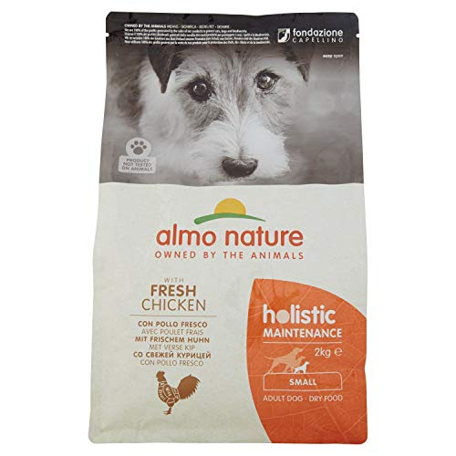 almo nature Holistic Hundefutter Small mit Huhn und Reis (2 kg)