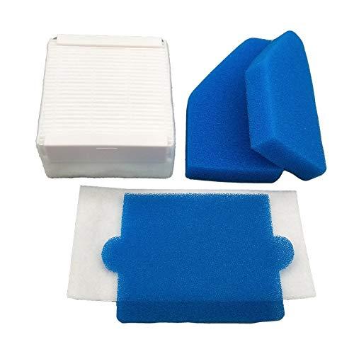 Without brand FMN-Home, 3Réglez Filtre Mousse Hepa Filtre Nettoyage poussière Remplacements de Filtre for Thomas 787241, 787 241, 99 Aspirateur Accessoires Filtrer