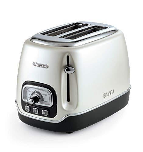 Ariete Classica Elektro-Toaster mit 2 Scheiben smoked pearl