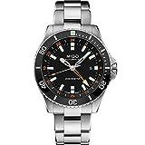 Mido orologio Ocean Star Captain GMT 44mm nero automatico acciaio...