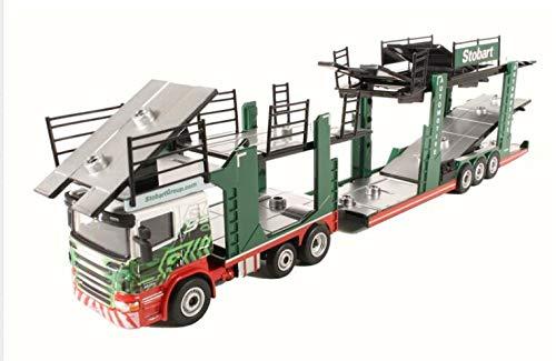 Oxford Diecast 76SCT005 Eddie Stobart Car Transporter - Christina Frances