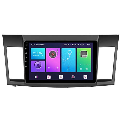 Android Car Stereo Sat Nav for Mitsubishi Lancer 2007-2015 Head Unit GPS Navigation System SWC 4G WiFi BT USB Mirror Link Built-in Carplay