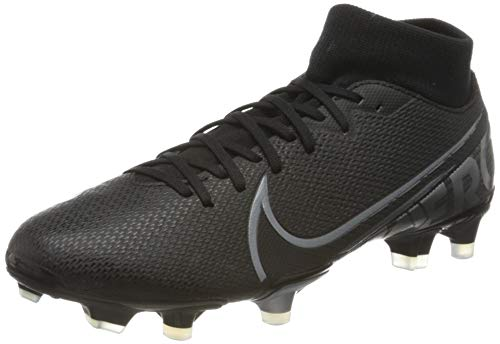 Nike Unisex-Kinder Superfly 7 Academy Fg/mg Fußballschuhe, Mehrfarbig (Black/MTLC Cool Grey/Cool Grey 1), 36 EU