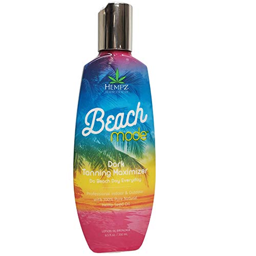 Hempz Beach Mode Dark Tanning Maximizer