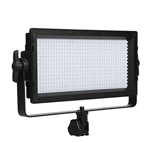 Gowe bi-color LED luce video 3200 K-5600 K studio panel illuminazione regolazione luminosità TV Broadcasting diurna