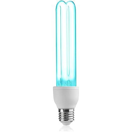 Manooby UV Desinfektion Lampe Desinfektionslampe UV-C 6W//8W//10W Quarz Hohe /Übertragungslampe f/ür Schule Hause Wei/ß