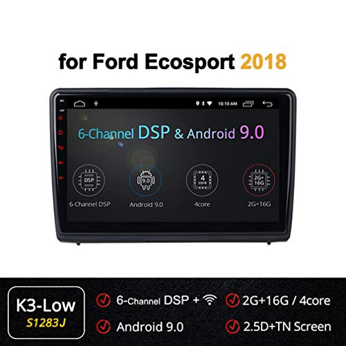Buy Discount XBRMMM Car Radio Stereo 10.1 Inch Android Radio GPS Navigation for Ford Ecosport (2018)...