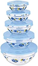 Glass Bowls with Lids