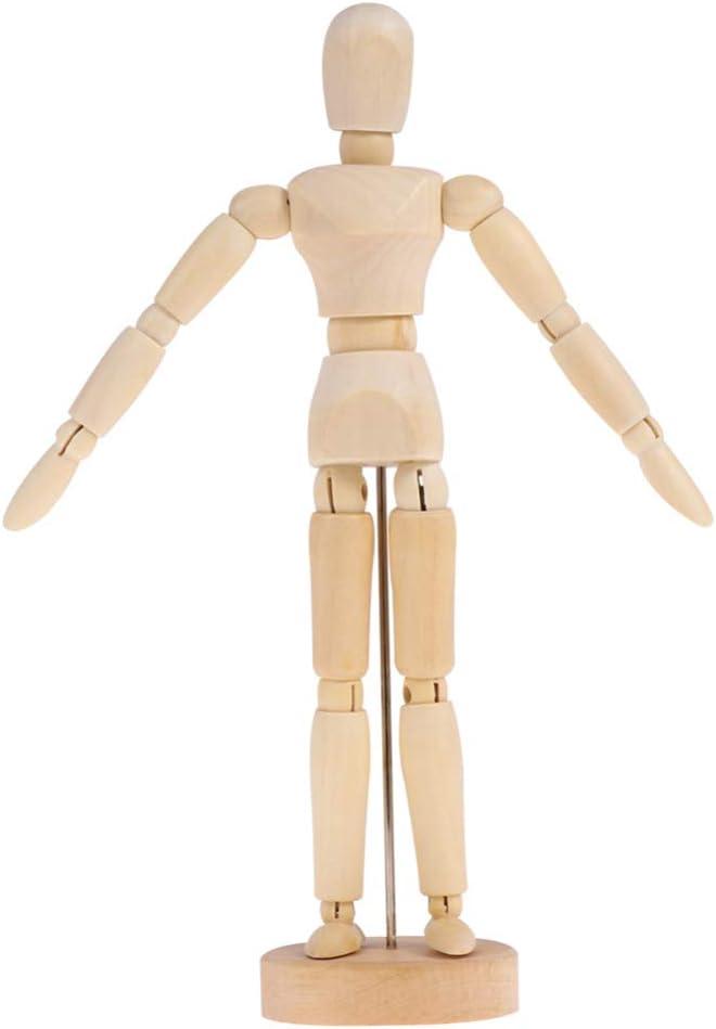 Healifty 4pcs Wooden Human High cheap order Mannequin Arti Artist Manikin Drawing