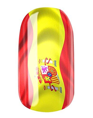 Con fresa per unghie e Spagna pellicole by Glam Stripes-