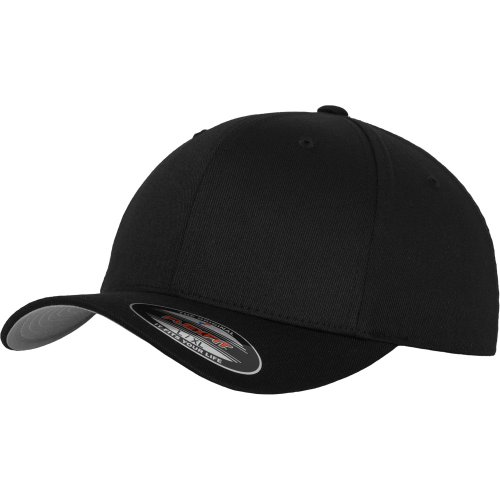 Flexfit WOOLY COMBED Extensible Casquette - noir - Youth