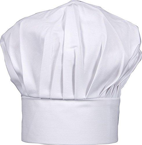 Harold ImportCo 02300 HIC Gourmet Classics Adjustable Chef Hat, White