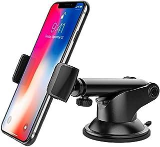 Cuxwill Auto Handyhalterung, KFZ Armaturenbrett Windschutzscheibe Smartphone Halterung für iPhone 11 XS MAX XR X 8 7 6S plus, Samsung Galaxy, HTC, LG etc