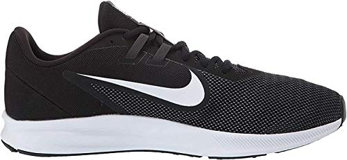Nike Herren Downshifter 9 Laufschuhe, Schwarz (Black/White-Anthracite-Cool Grey 002), 44 EU