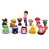 12PCS Paw Patrol Cake Topper and Cake Decoration Paw Patrol Children's Birthday Shower Party Supplies Decoration
