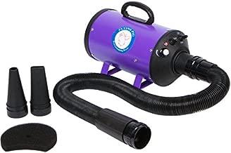 Flying Pig Grooming One Purple High Velocity 4.0 Hp Motor Dog Pet Grooming Force Dryer w/ Heater