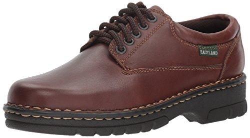 Eastland womens Plainview oxfords shoes, Brown, 7.5 US