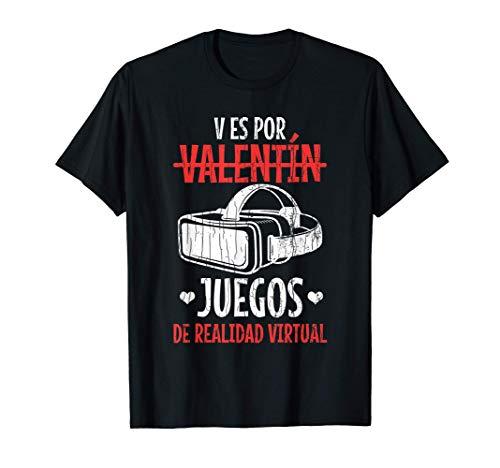 Divertida del día de San Valentín de Realidad Virtual Camiseta