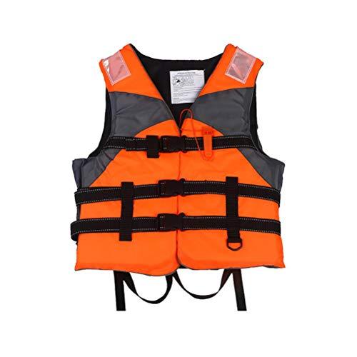 Chaleco de natación para Adultos, Chalecos Salvavidas para Adultos, Chaleco Salvavidas Ajustable para Pesca, Chaleco de Vela, Canoa, Kayak, Bote Auxiliar, Chaleco Salvavidas