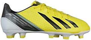 adidas f30 TRX FG Junior Soccer Cleat (Vivid Yellow, Black, Green Zest) (6)