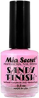 Mia Secret Sandy acabado esmalte de uñas luz rosa 15ml
