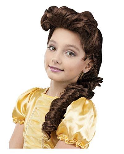 perruque enfant princesse fée Brown