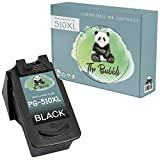 The Bubbli Original | PG-510XL Remanufacturado Cartucho de Tinta Compatible para Canon Pixma MP230 MP240 MP250 MP252 MP260 MP270 MP280 MP282 MP480 MP490 iP2700 iP2702 MX320 MX330 MX350 MX410 (Negro)