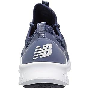 New Balance Men's Fresh Foam Lazr Sport V1 Running Shoe, Vintage Indigo/Nubuck Navy, 15 D US