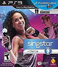 SINGSTAR DANCE (USB MICROPHONES REQUIRED)(MICROPHONES DO NOT COME WITH)
