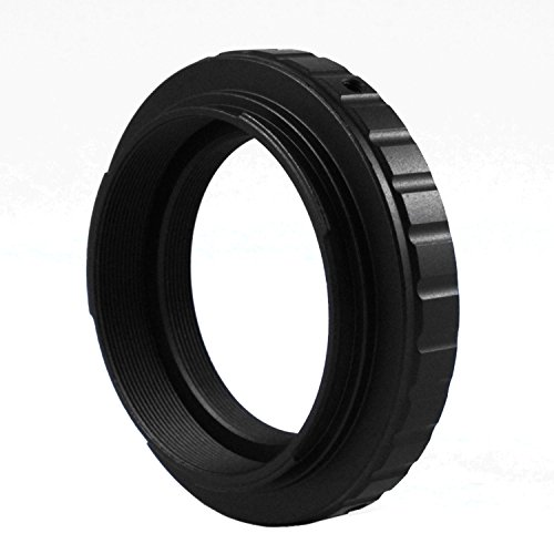 Astromania Metal T-Ring Adapter for Canon EOS DSLR/SLR (Fits All Canon EOS SLR/DSLR Cameras with EF Mount)