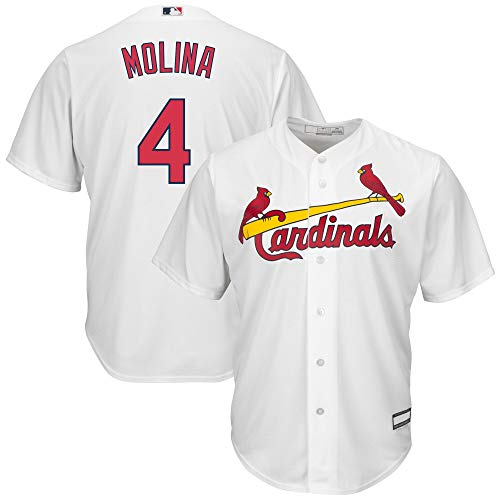 Yadier Molina St. Louis Cardinals MLB Boys Youth 8-20 Player Jersey (White...