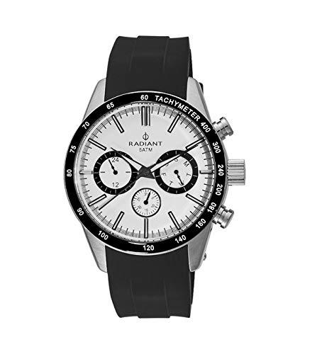 Radiant Reloj Analógico para Hombre de Cuarzo con Correa en Silicona RA411602