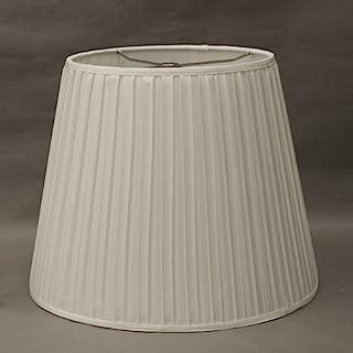 フロアスタンド交換用ランプシェード ア-ム式 直径35cm<ボックスプリーツ>ホワイト