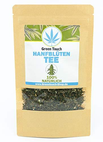 Green Touch-Natürlicher Tee aus der Blüte als Schlaftee, Entspannungstee und Meditationstee 50g-GESCHREDDERTE BLÜTEN-mit geringem Blattanteil - Aus Deutschland