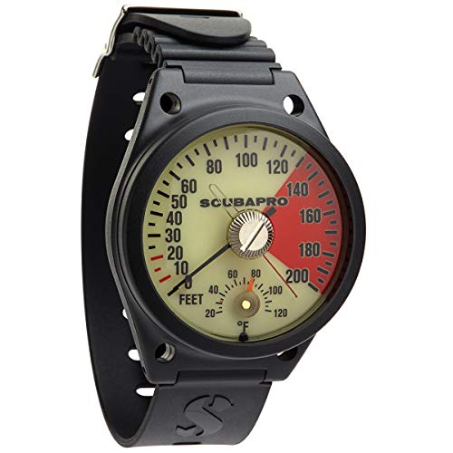 SCUBAPRO Wrist Mount Imperial Depth Gauge