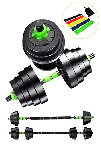 Top Power Lube 20Kg Dumbbells Set of Gym Weights Barbell/Dumbbell Body Building 20KG SET