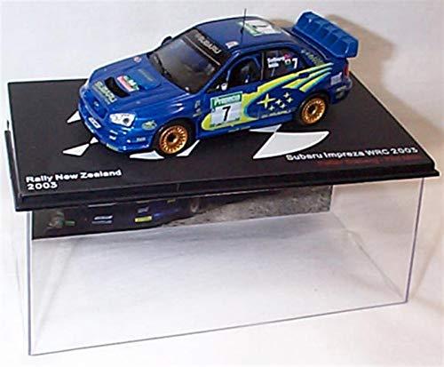 ixo Subaru Impreza WRC 2003 Petter Solberg Phil Mills car 1:43 scale diecast model