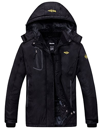 Wantdo Women's Waterproof Mountain Ski Jacket
