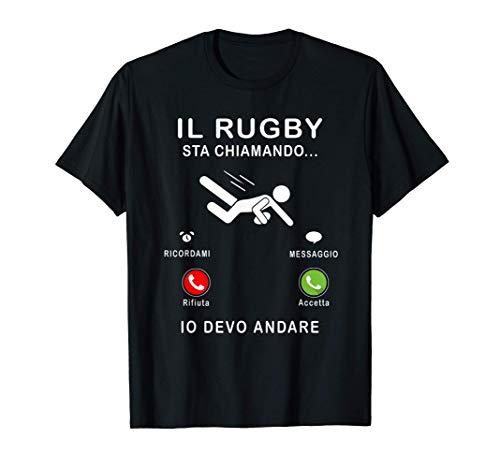 Un regalo divertente per gli appassionati di rugby Maglietta