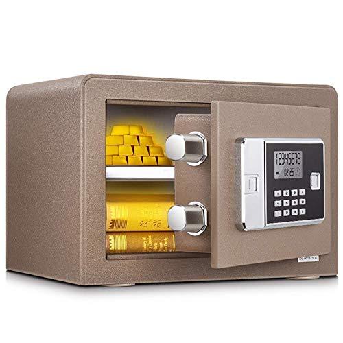 HIZLJJ Caja Fuerte de Seguridad, Cajas Fuertes Digital Teclado Fuerte Bloqueo Seguro de hogar y Oficina de Seguridad for la joyería Documento Dinero