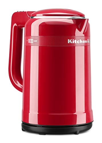 KitchenAid KEK1565QHSD 100 Year Limited Edition Queen of Hearts Electric Kettle, 1.5L, Passion Red