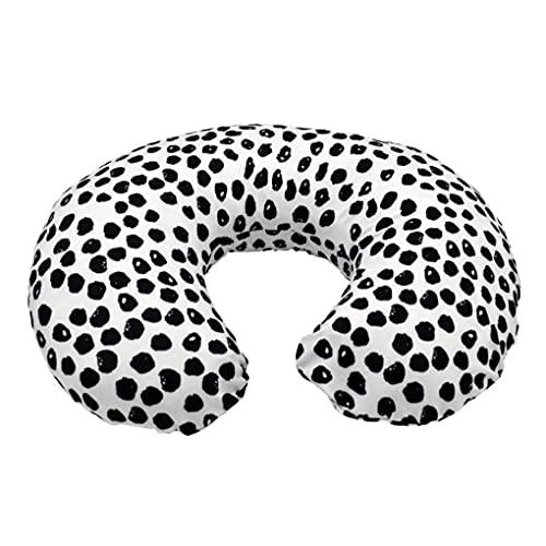 Liadance Cubierta de Almohada de enfermería para bebés Caja de cojín de Forma de U Pible con Cremallera Oculta