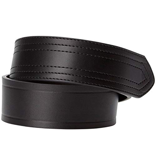 KingSize Men's Big & Tall Buckleless Belt - Big - 40/42, Black