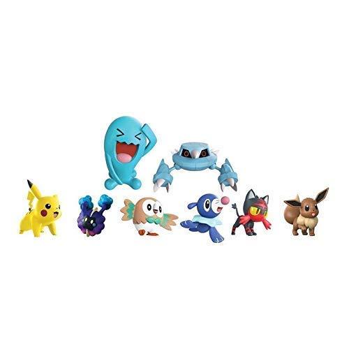 Lively Moments Pokemon Battle Multi Pack Offensive / 8 Sammelfiguren Alola Erweiterung Wie Cosmog, Woingenau und Mehr