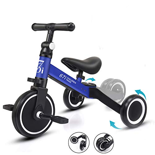 67i Tricycles for 2 Year Olds Toddler Tricycle 3 in 1 Tricycles Kids Trikes for Toddler Bike 3 Wheel...