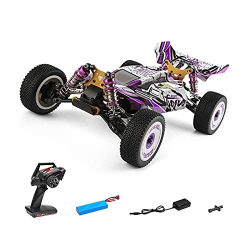 FHDD 2.4G Racing RC Car 60 km/h Chasis de Metal 4WD Road Drift Electric RC Cars Toys Control Toys para Adultos Niños