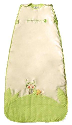The Dream Bag CP182 Unisex Caterpillar Baby Schlafsack, 18-36 Monate, 2.5 Tog, 110 cm, creme
