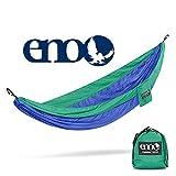 ENO Hamac Simple nid Bleu Roi/émeraude