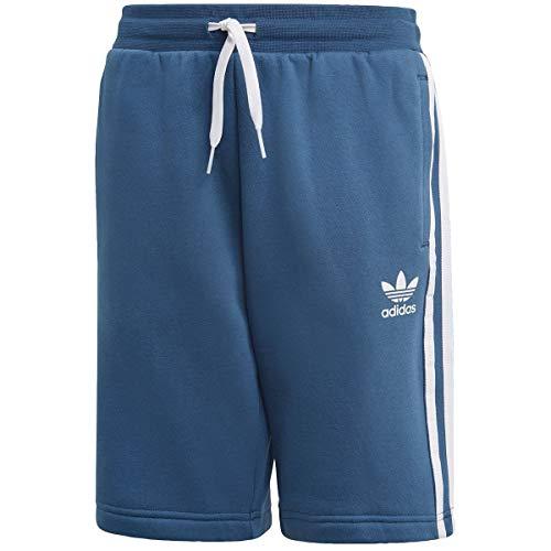adidas Fleece Shorts, Pantaloncini Sportivi Unisex Bambini, Night Marine White, 1314Y